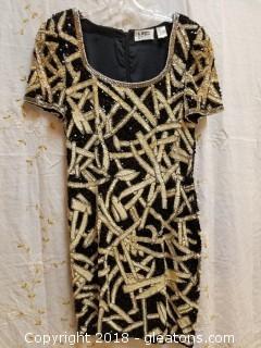 Sequin Cocktail Dress Niteline Size 8