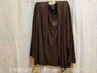 Dress Top Notations Size Lx