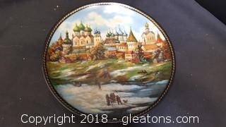 Collectible Bradford Exchange Plate