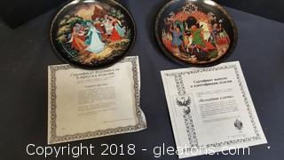 Prof Italian Collectible Plates