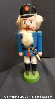 Original Erzgebirge Expertic Made In GDR Nutcracker