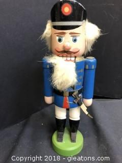 Original Erzgebirge Expertic Made In GDR Nut Cracker