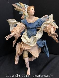 Handmade Italian VIntage Floating Angel