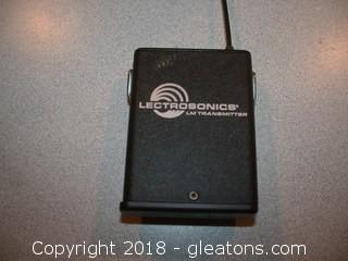 Lectrosonics wireless LM transmitter-Block 21