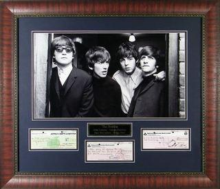 Beatles Signed Checks
