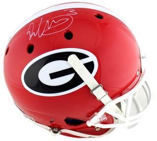 Todd Gurley Signed Georgia Bulldogs Schutt Full Size NCAA Helmet