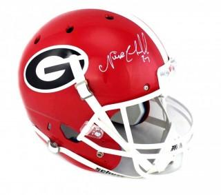 Nick Chubb Signed Georgia Bulldogs Full Size Helmet