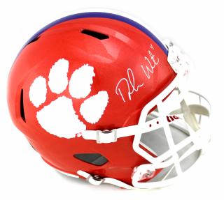 Deshaun Watson Signed Clemson Tigers Riddell Speed Full Size NCAA Helmet
