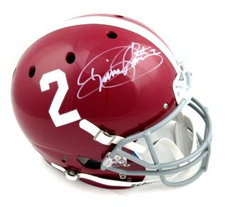 Derrick Henry Signed Alabama Crimson Tide Schutt Full Size Helmet