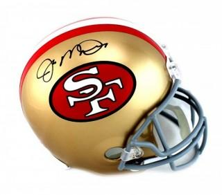 Joe Montana Signed San Francisco 49ers Throwback Full Size NFL Helmet