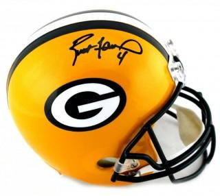 Brett Favre Signed Green Bay Packers Full Size NFL Helmet