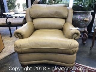 Thomasville Premium Leather Arm Chair LIKE NEW