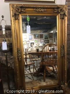 Large Mantle Mirror