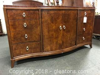 Thomasville Dresser Bogart Collection - Inlaid Wood Detail