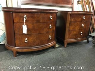 Thomasville Pair Nightstand Boghart Collection