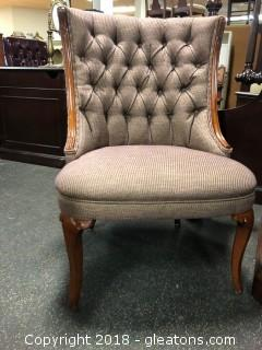 Tufted Accent Chair (A)