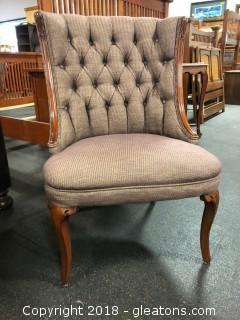 Tufted Accent Chair (B)