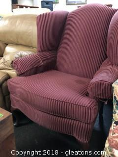 High Point N.C. Wingback Chair