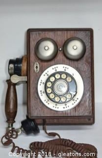 Western Electric Reproduction Wall Phones Works!!!