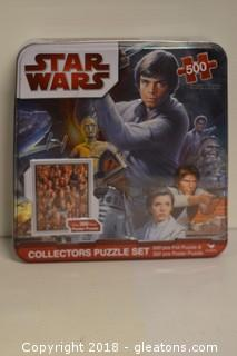 Star Wars 2 Poster size Puzzles Collectors Tin, New UnOpened