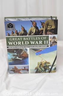GREAT BATTLES of WW2 DVD SET