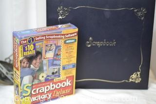 New unopened Scrapbook Computer Program and Scrapbook