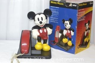 MICKEY MOUSE PHONE 1990 AT&T