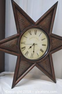 Medium Weigh Metal Wall Clock Works
