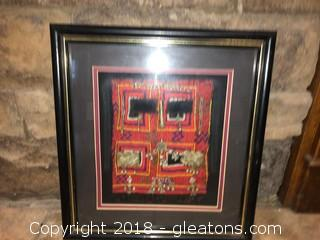 Frame Arabic Cloth With Beautiful Detail (A)