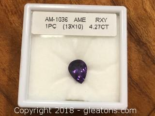 Verified Amethyst Loose Stone