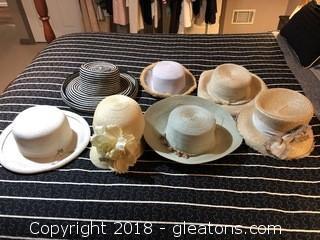 Lot of Summer Hats