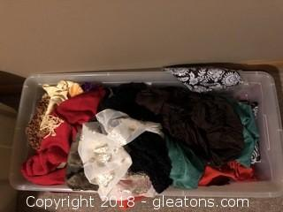 Lot of Womens Scarves