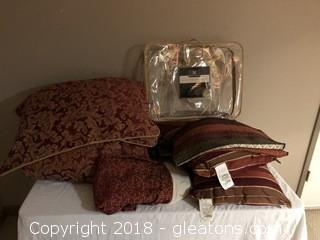 Pair of Queen Size Bed Sets