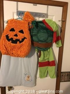 Lot of kids  costumes and clothes