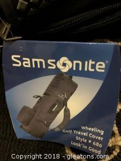 New with Tags Samsonite Golf Bag