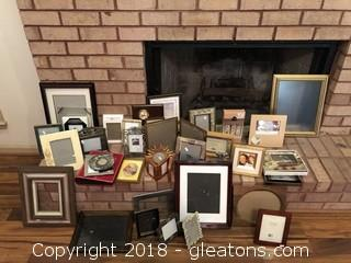 Huge Lot if decorative picture frames