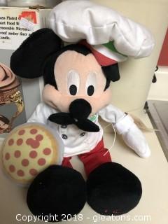 Italian Mickey with removable mushtashe