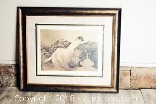 Louis Icart Signed Print