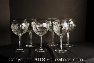 Water Ford Crystal Limited Edition Millennium Goblet (Set of 6)