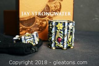 Authentic Jay Strongwater Collectible Box