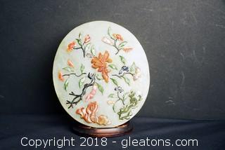 Jade Oval Asian Art