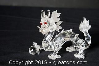 Swarovski Crystal Dragon