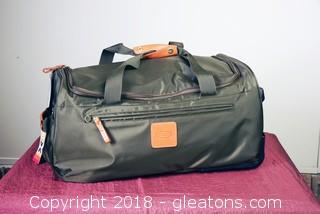 Bric's Duffel Bag Rolling Or Shoulder Strap New With Tags