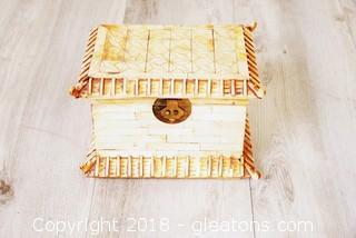Vintage Box Made Of Bone