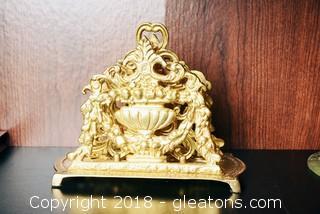 Maitland-Smith Brass Desktop File