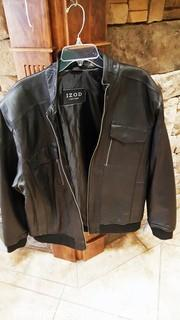 """New"" With Tags Izod Leather Jacket"