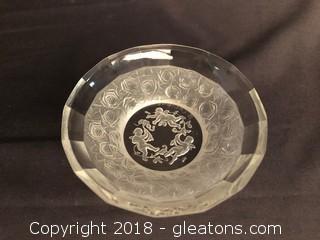 Signed Lalique Bowl