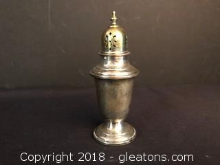 Gorham #758 Puritan Sterling Silver Vintage Screw Top Shaker