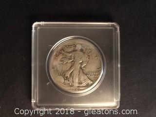 1941 Walking Liberty Half Dollar