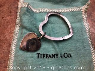 Tiffany & Co Sterling Keyring